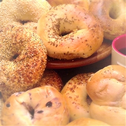 Order NY Bagels And Bialys Buns Custom Gift Baskets Online Have It Shipped Overnight Via Fedex For Nationwide Delivery