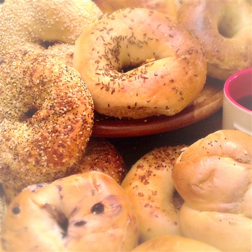 Order NY Bagels And Bialys Buns Custom Gift Baskets Online Have It