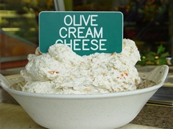 Order Olive Cream Cheese online from NY Bagels and Buns gifts