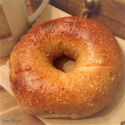 Order Fresh out of the oven Plain Bagels from NY Bagel and Buns online gifts