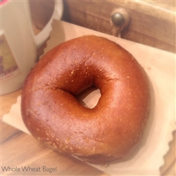 Order Fresh out of the oven Whole Wheat Bagels from NY Bagel and Buns