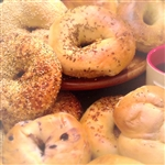 Order NY Bagels and Bialys, Buns, and custom gift baskets online and have it shipped overnight via Fedex for nationwide delivery.