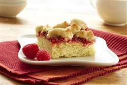 Order an Old Fashioned Raspberry Walnut Crumb Cake online from NY Bagels and Buns