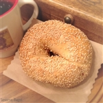 Order Fresh out of the oven Sesame Bagels from NY Bagel and Buns