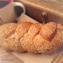 Order Fresh out of the oven Sesame Bagel Twists from NY Bagel and Buns