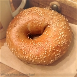 Order Fresh out of the oven Whole Wheat Sesame Bagels from NY Bagel and Buns